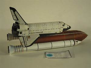 Large Space Shuttle Paper Model - Pics about space