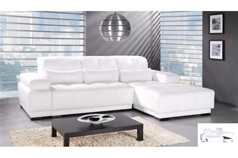 canape d angle cuir blanc pas cher canape angle cuir convertible toute l 39 offre canapes