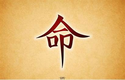 Japanese Symbol Calligraphy Artistic Wallpapers Background Wall