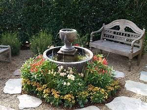 Front porch water fountains for Front yard fountains