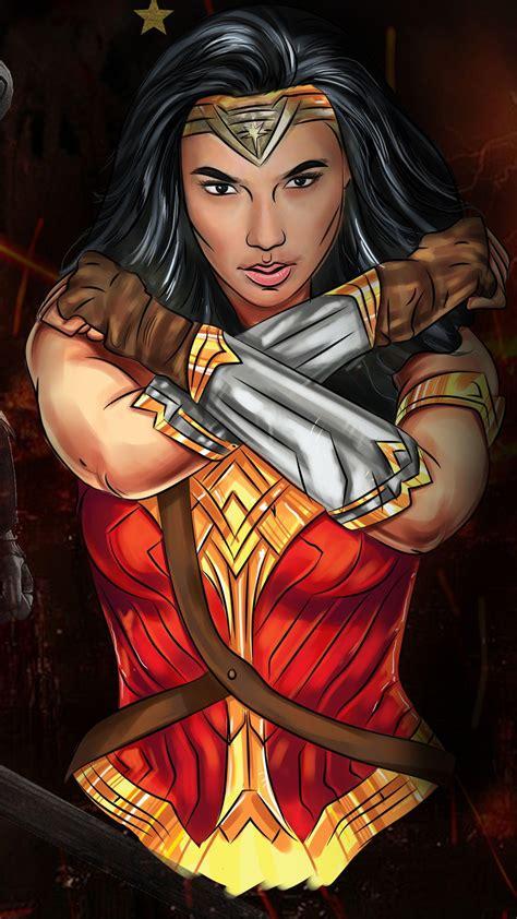 Wonder Woman 1984 Artwork Wallpapers - Wallpaper Cave