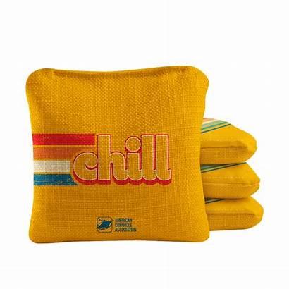 Cornhole Bags Synergy Retro Professional Chill