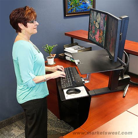 workfit s dual monitor with worksurface