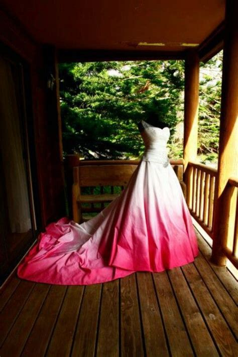 Dip Dyedwoould Love To Do This To My Wedding Dress