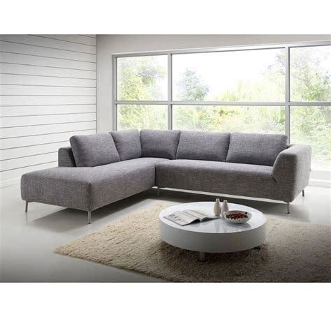 canapé d angle but gris delorm canapé d 39 angle moon tissu gris narbonne angle à