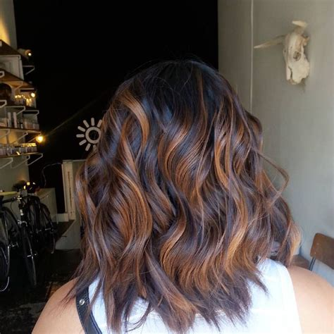 Espresso Hair Color With Caramel Highlights by 25 Best Ideas About Cinnamon Hair Colors On