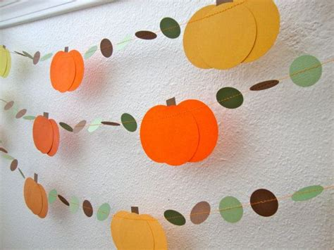 Herbst Girlande Fenster by Pumpkin Garland By Bethscardcreations On Etsy Fall