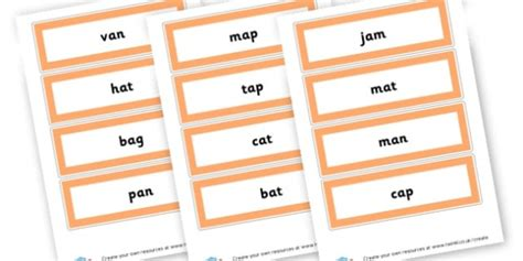 Cvc Words Primary Resources, Cvc, Consonant