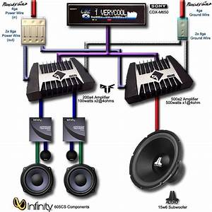 Car Sound System Diagram X3cbx3ecar Audiox3c  Bx3e Amplifier Speaker Wiring Hereis Another