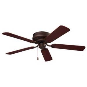 nutone hugger series 52 in oil rubbed bronze ceiling fan