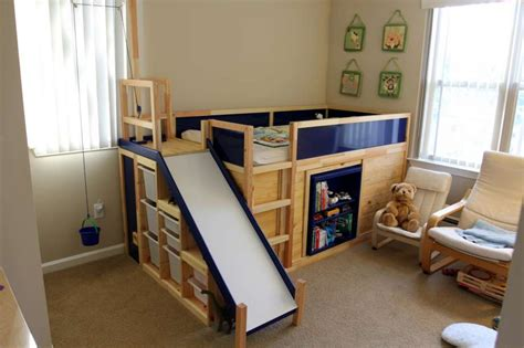 Learn How To Make An Awesome Kids' Bed With Ikea Parts