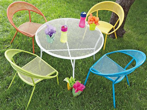 children s patio furniture woodard spright kids set wrought iron round table and 11113 | WR9H00971 zm