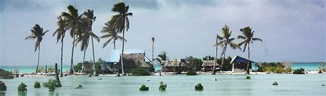 sinking islands in the pacific climate change wwf
