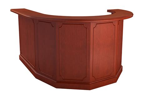 Traditional Reception Desk by Georgetown Reception Desk Arnold Contract