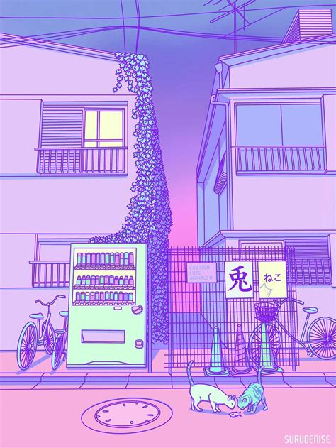 lilac aesthetic japan wallpapers