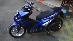 Yamaha Aerox 155 Biru Modifikasi Simple