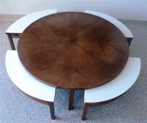 Mid Century Modern Nesting Coffee Table Julesmoderne