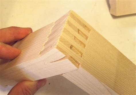 dovetail  box joint strength