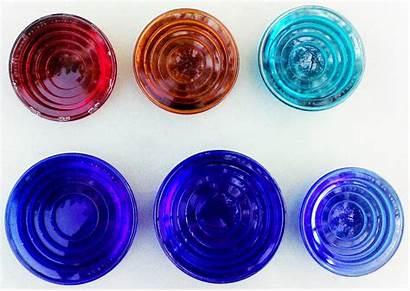 Glass Lenses Colors Railroad Cobalt Yellow Globes