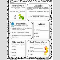 Daily Grammar Reviewgreat For 2nd Grade Morning Work