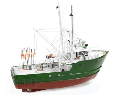 Fishing Boat Model by Billing Boats B726 Andrea Gail Fishing Boat Wood Hull