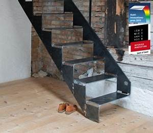 Stahl Holz Treppe : schnittgutttreppe 8 0 von spitzbart treppen treppe designtreppe metalltreppe stahltreppe ~ Markanthonyermac.com Haus und Dekorationen