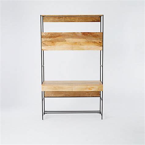 west elm industrial desk buy west elm industrial modular 49 quot desk john lewis