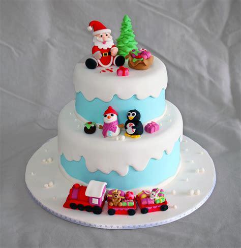 winter wonderland christmas cake cakecentralcom