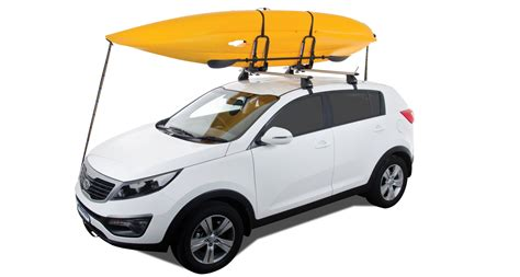roof rack for kayak folding j style kayak carrier s512 rhino rack