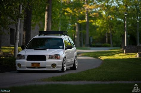 2005 subaru forester slammed good lord we are loving this subaru forester xt
