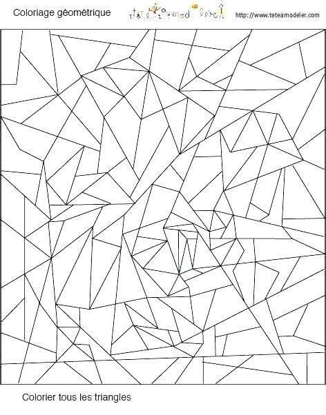 【Meilleur en 2019】 Coloriage Forme Geometrique A Imprimer