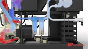 Compresseur A Vis : compresseurs rotatifs vis lubrifi es s rie r 55 75 kw ~ Melissatoandfro.com Idées de Décoration