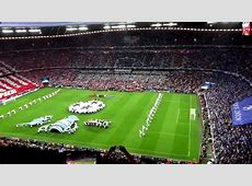 UEFA Champions League Final 2012 Munich Opening Ceremony