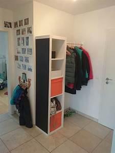 Ikea Kallax Flur : kleiner flur ganz gro mit ikea expedit kallax und komplement kleiderstange expedit mit ~ Markanthonyermac.com Haus und Dekorationen