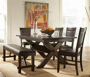 80 idees pour bien choisir la table a manger design With idee deco cuisine avec chaise de salle a manger en cuir