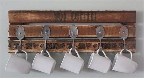 Pallet Coffee Mug Holder   Pallet Furniture