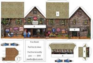Free Downloads Paper Model Houses