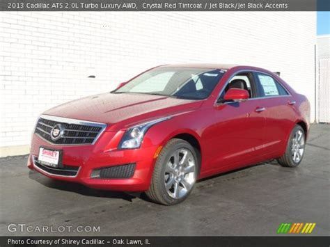 crystal red tintcoat 2013 cadillac ats 2 0l turbo luxury