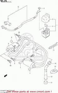 Suzuki Gsf600s Bandit 2000  Y  Usa  E03  Electrical