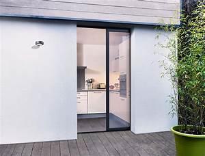 Dimension Porte Standard Exterieur : porte coulissante ext rieure aluminium baie vitr e ~ Melissatoandfro.com Idées de Décoration