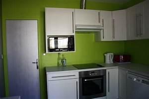 quelle couleur de mur pour ma cuisine vert anis avec plan With quelle couleur associer avec du gris 8 deco cuisine vert fonce