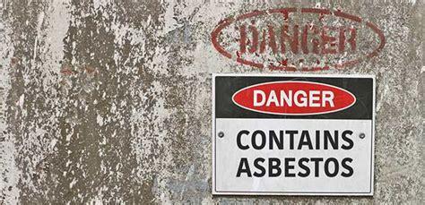 occupational health risks asbestos occupational health
