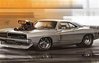 Charger Dodge 1969 Sidelnikov Machine Figure Alexander