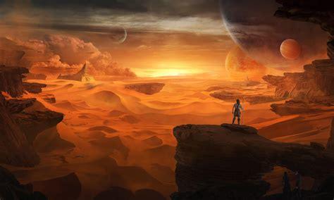 Wallpaper : fog, other world, people, rocks, planets 3830x2300 - goodfon - 1048212 - HD ...