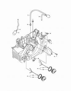 Husqvarna 460 Chainsaw Parts Diagram