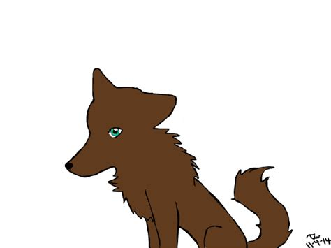 painting my just a wolf slimber com drawing and painting