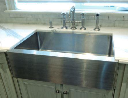 stainless steel farmhouse kitchen sink sinks gallery