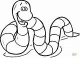 Earthworm Coloring Earthworms Worm Inchworm Pages Drawing Cartoon Printable Supercoloring Worms Inch Animals Garden Preschool Cartoons Crafts Sheets Rainforest Getcolorings sketch template