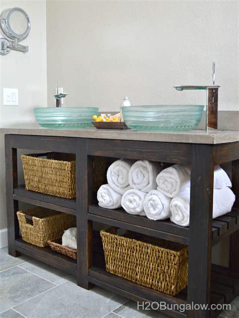 recycle  stuff   small diy bathroom vanities