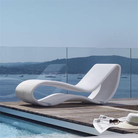 chaise bain de soleil breez 2 0 design sonnenliege aus aluminium mit stoffbezug für außenbereich sediarreda